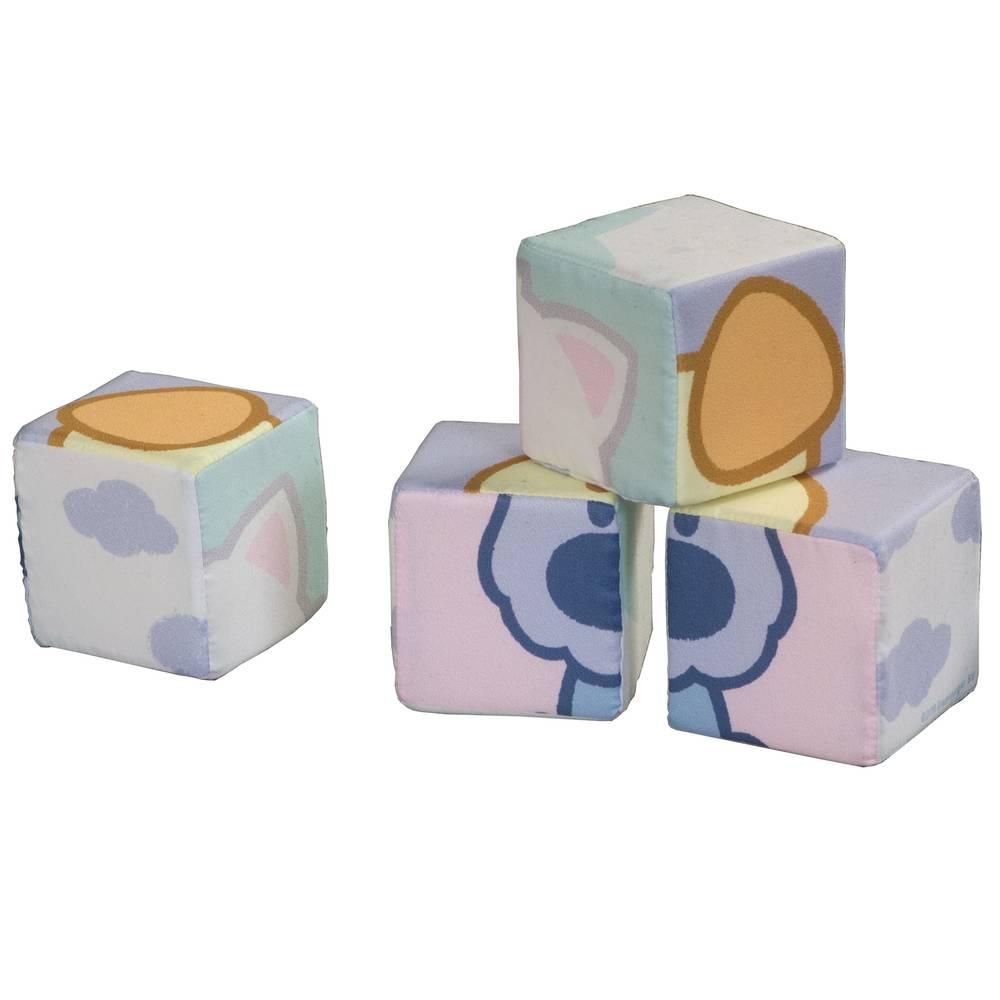 Woezel & Pip stoffen blokken puzzel