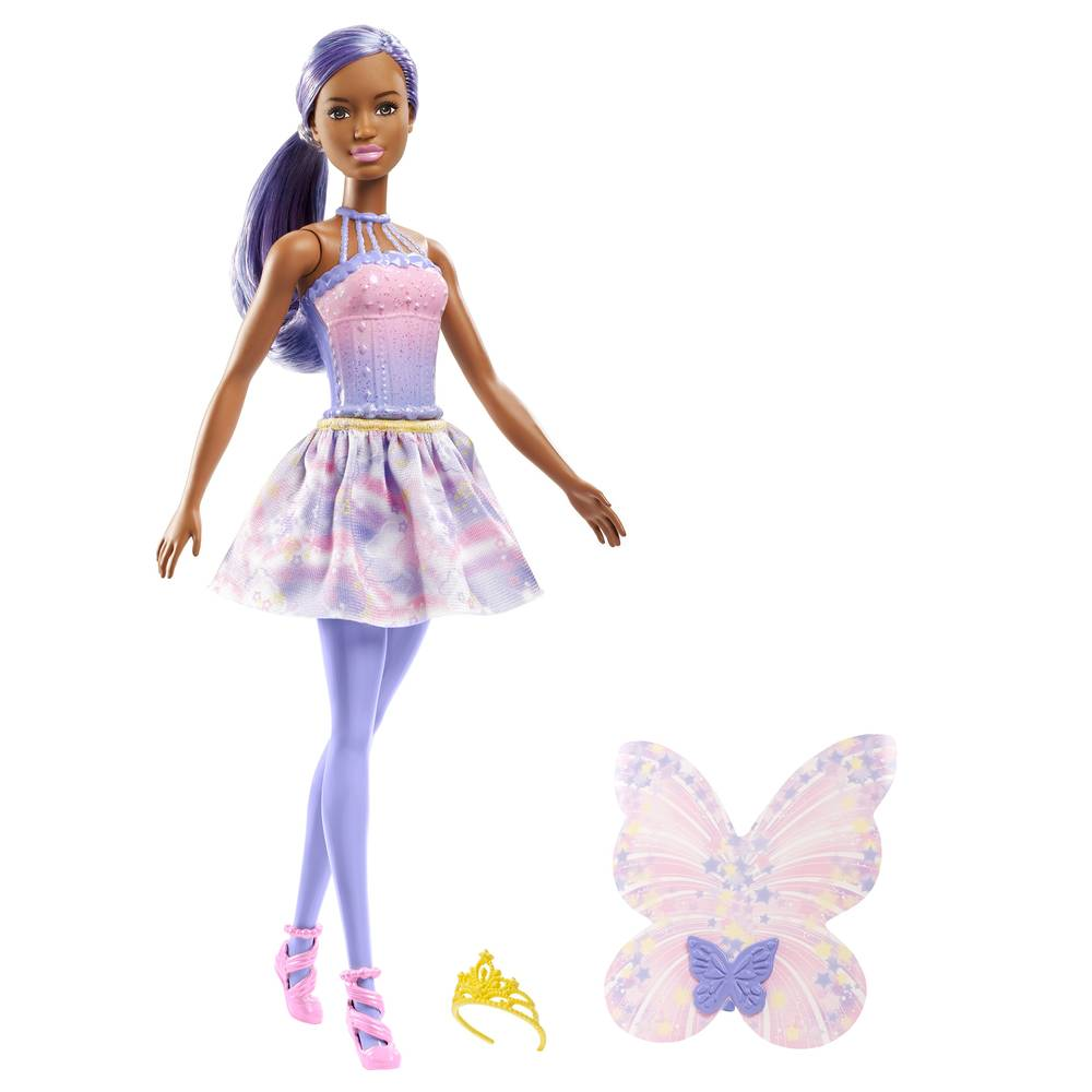 Barbie Dreamtopia fee - paars