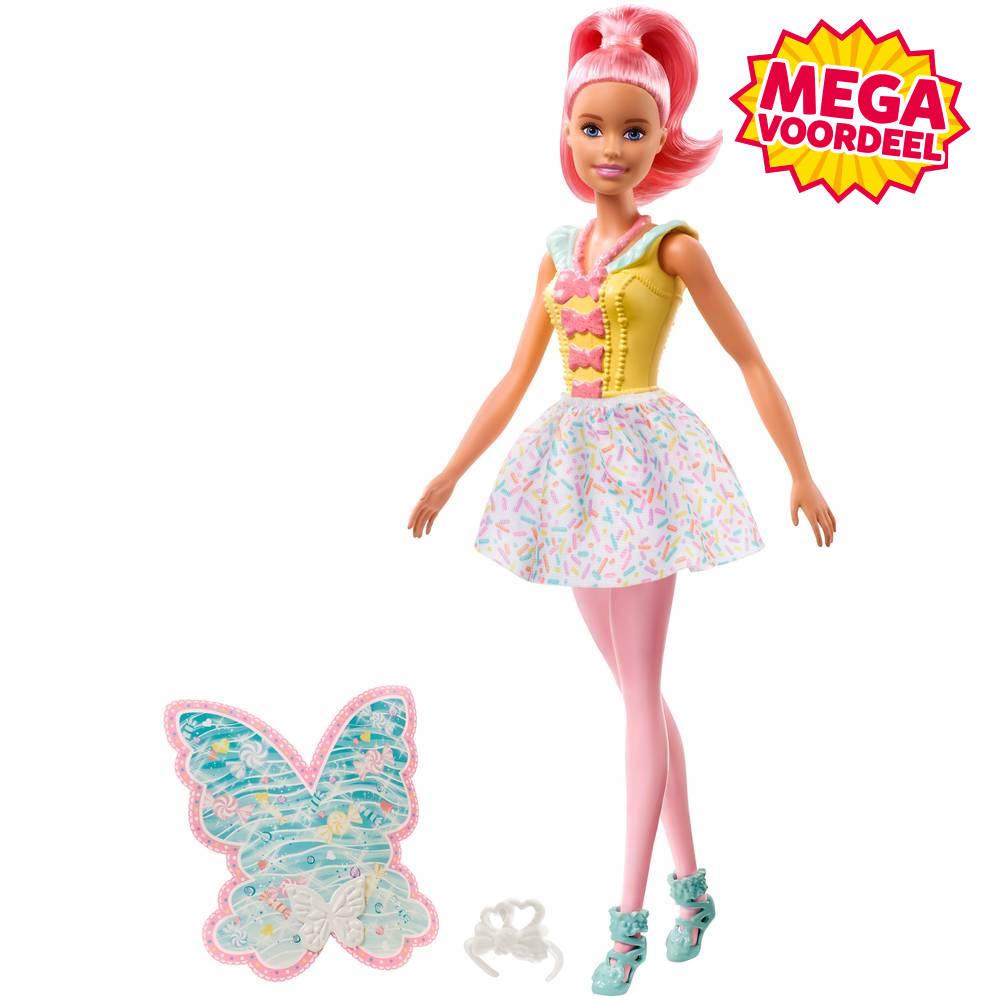 Barbie Dreamtopia fee - roze