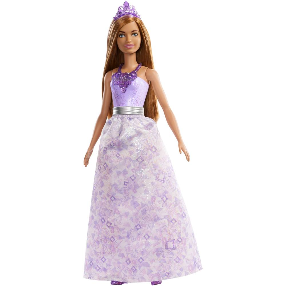 Barbie Dreamtopia prinses - bruin haar