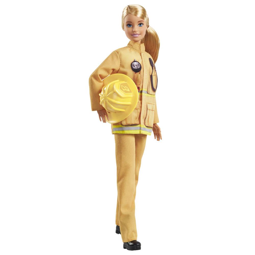 Barbie pop brandweervrouw