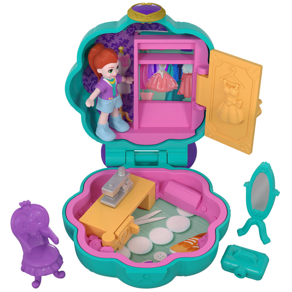 Polly Pocket Tiny Pocket Places Lila's kledingkast