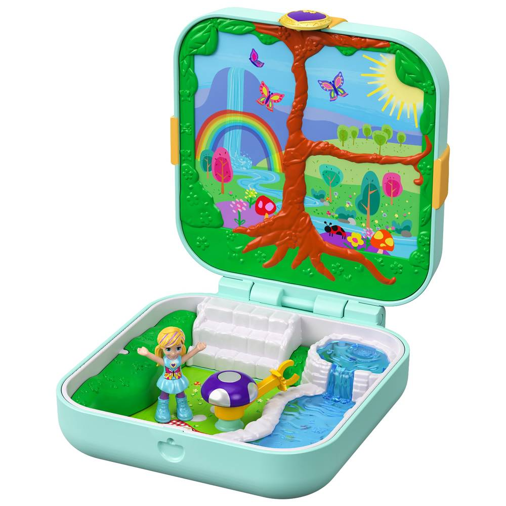 Polly Pocket Hidden Hideouts betoverend bos