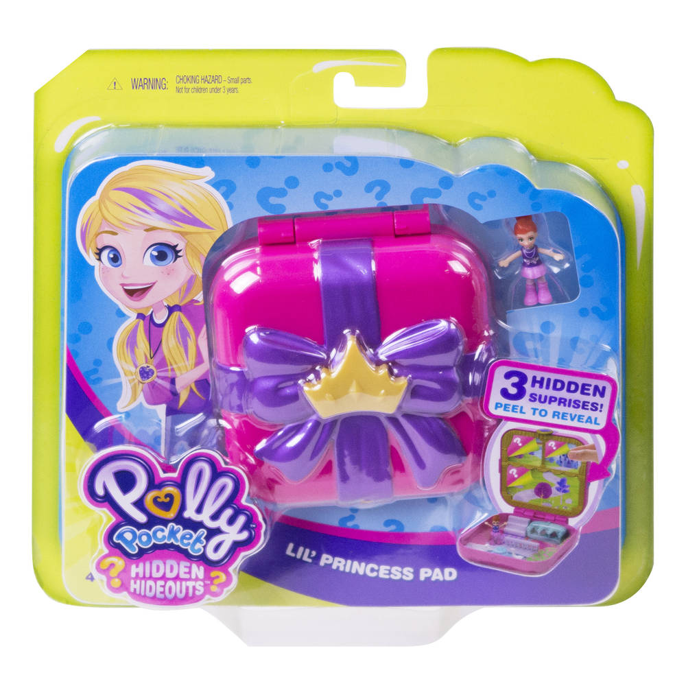 Polly Pocket Hidden Hideouts Lila's droomkasteel