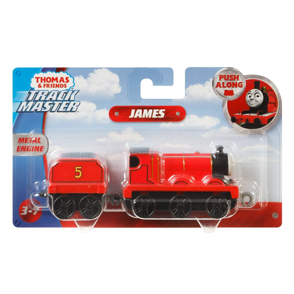 Thomas & Friends TrackMaster James + wagon