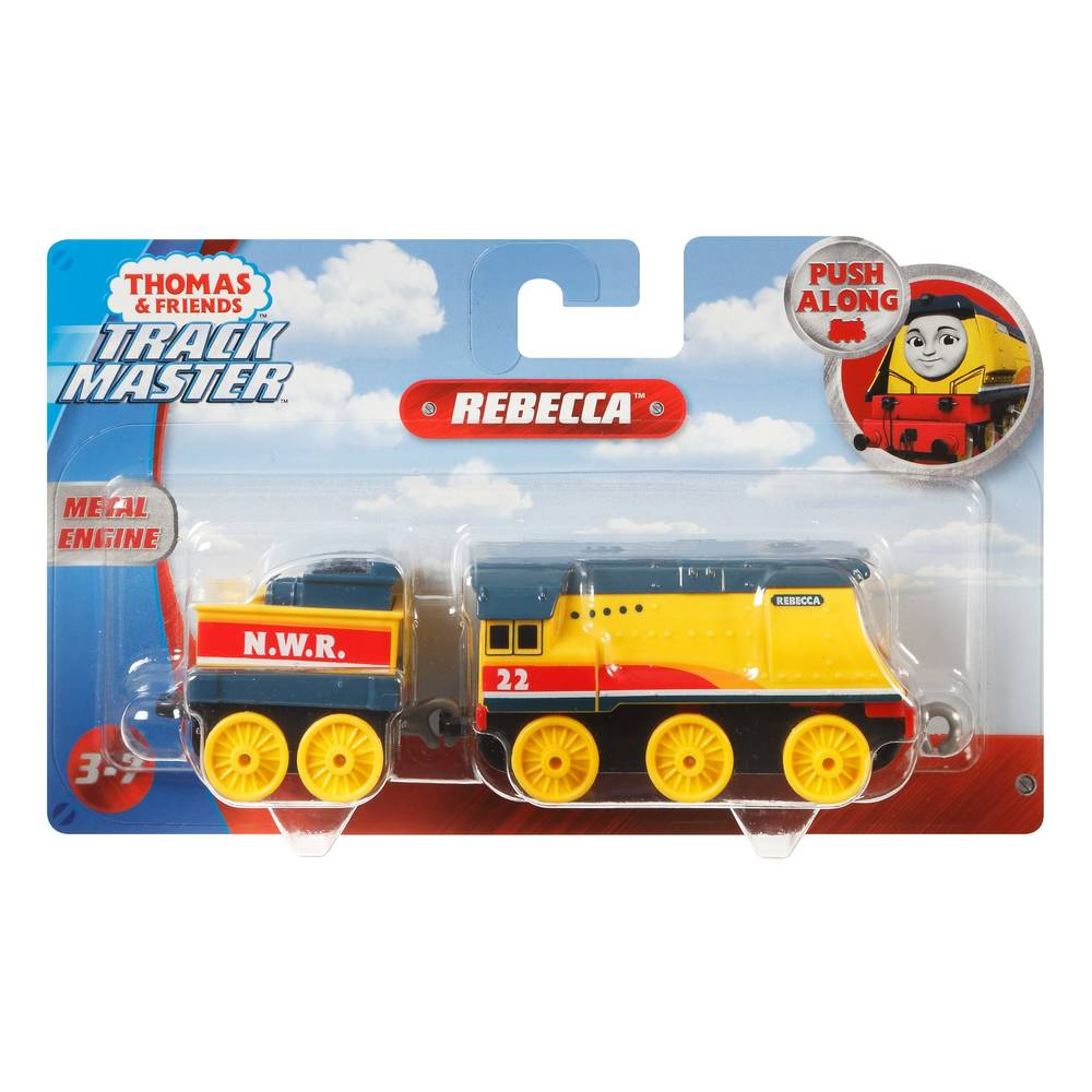 Thomas & Friends TrackMaster Rebecca + wagon