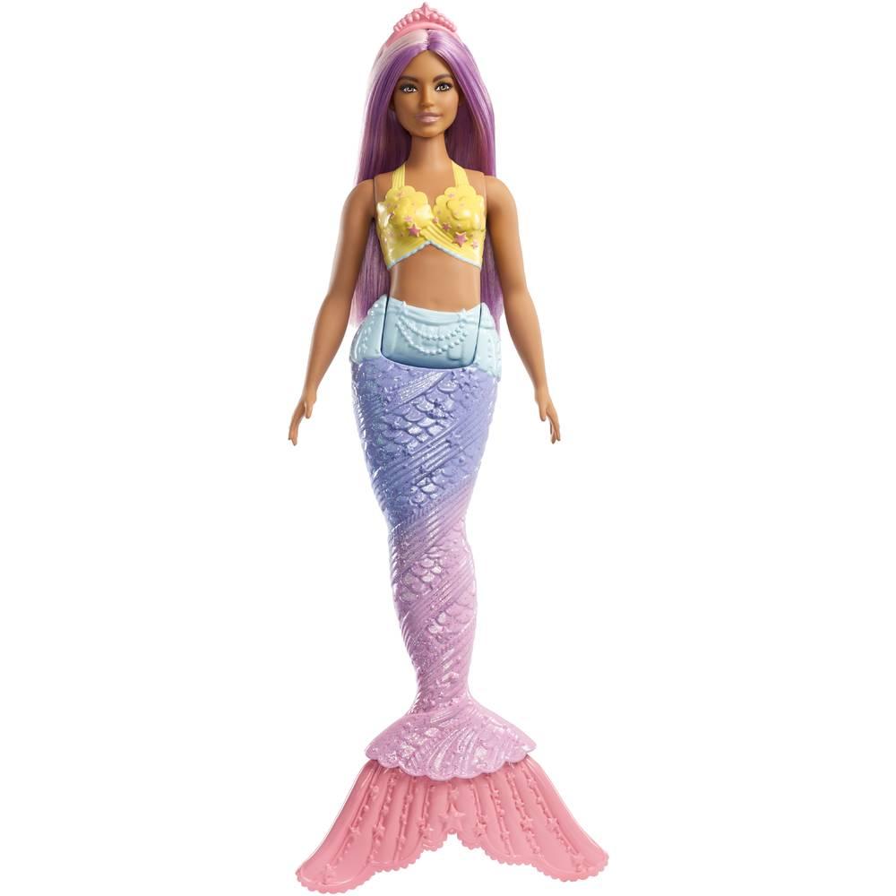 Barbie Dreamtopia zeemeermin - paars
