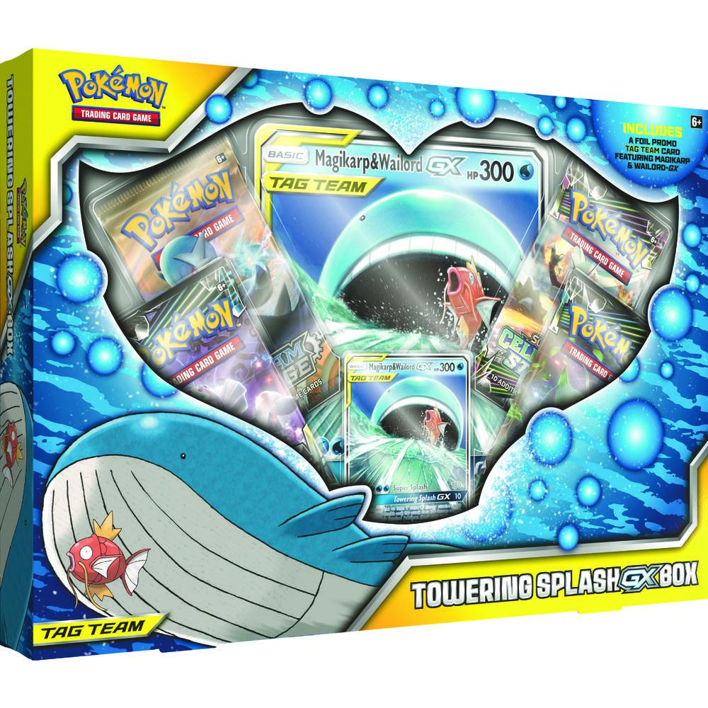 Pokémon TCG Towering Splash GX box
