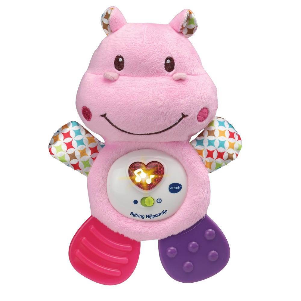VTech bijtring nijlpaardje - roze