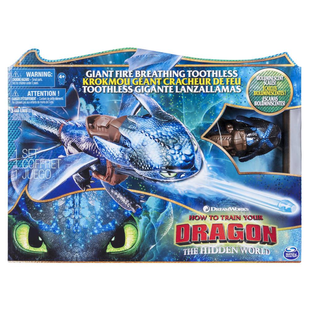 Hoe tem je een draak 3 figuur vuurspuwende draak Tandloos