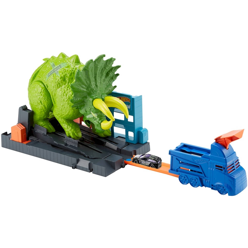 Hot Wheels Triceratops speelset