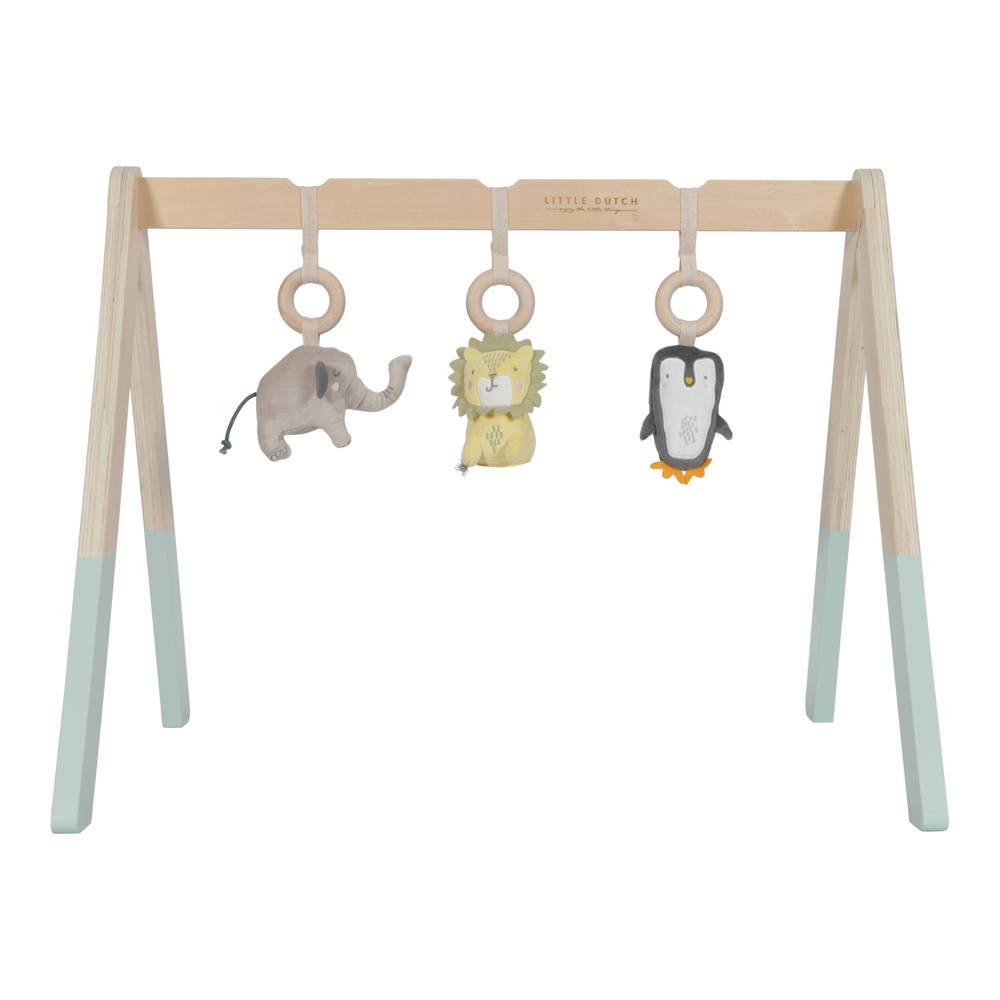 Little Dutch houten babygym - mint
