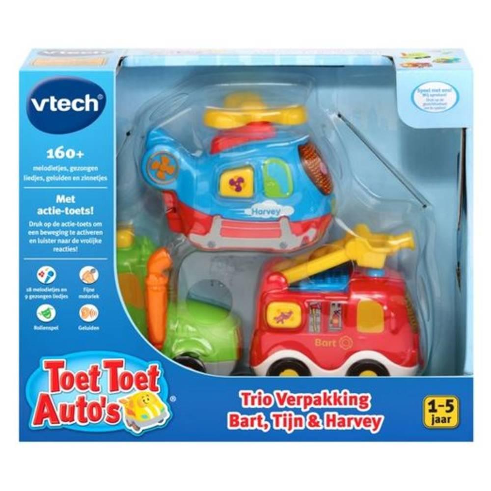 VTech Toet Toet auto's Bart Tijn & Harvey
