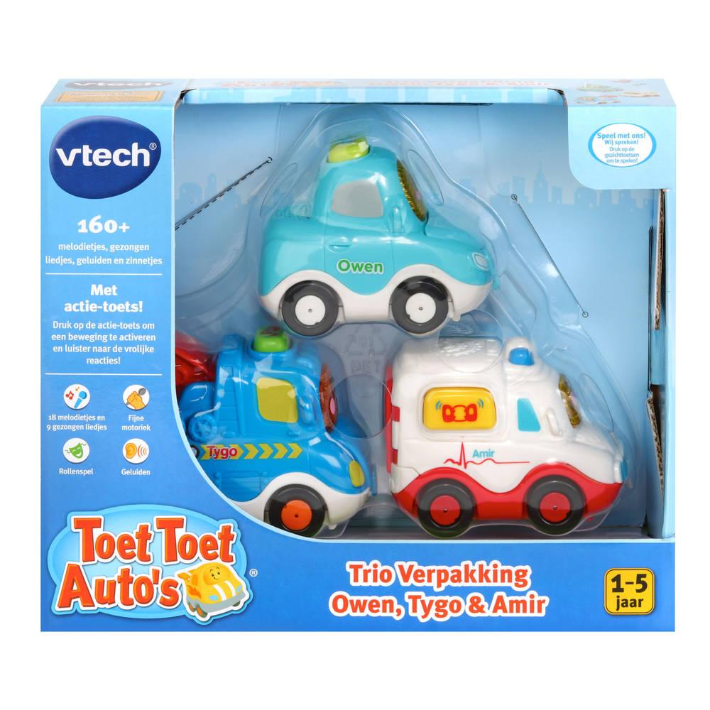 VTech Toet Toet auto's Owen Amir & Tygo