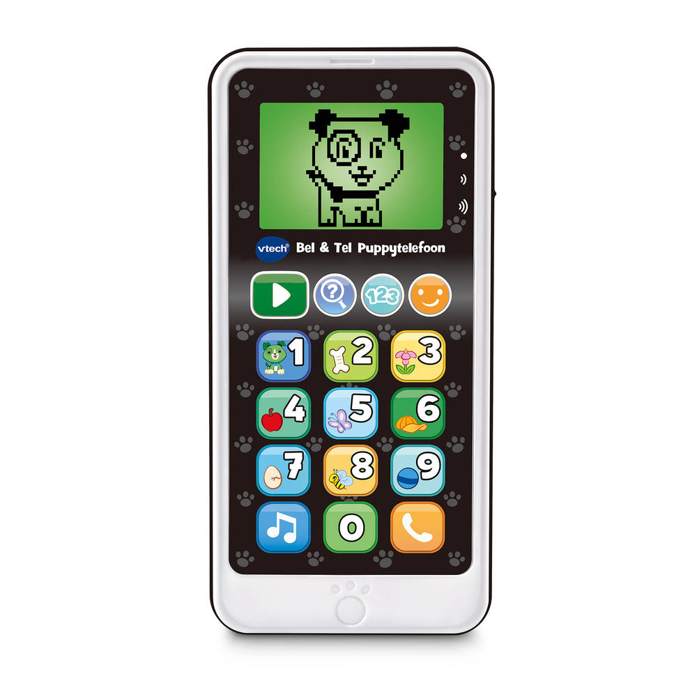 VTech Bel & Tel puppytelefoon - wit