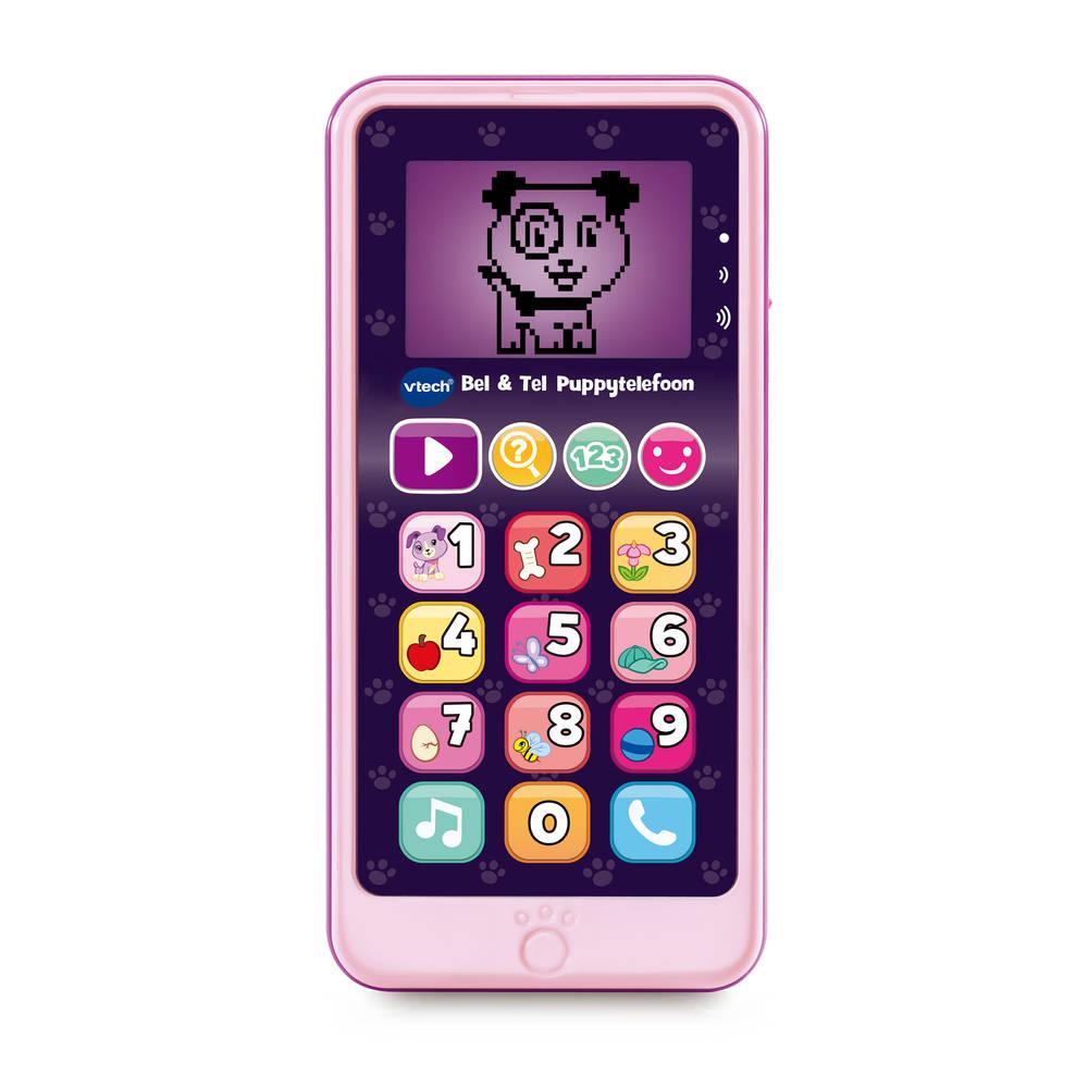 VTech Bel & Tel puppytelefoon - roze