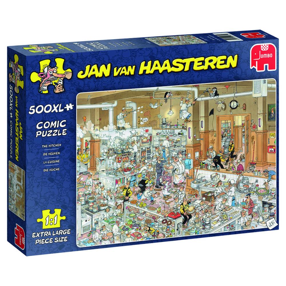 Jumbo Jan van Haasteren puzzel De keuken - 500 stukjes