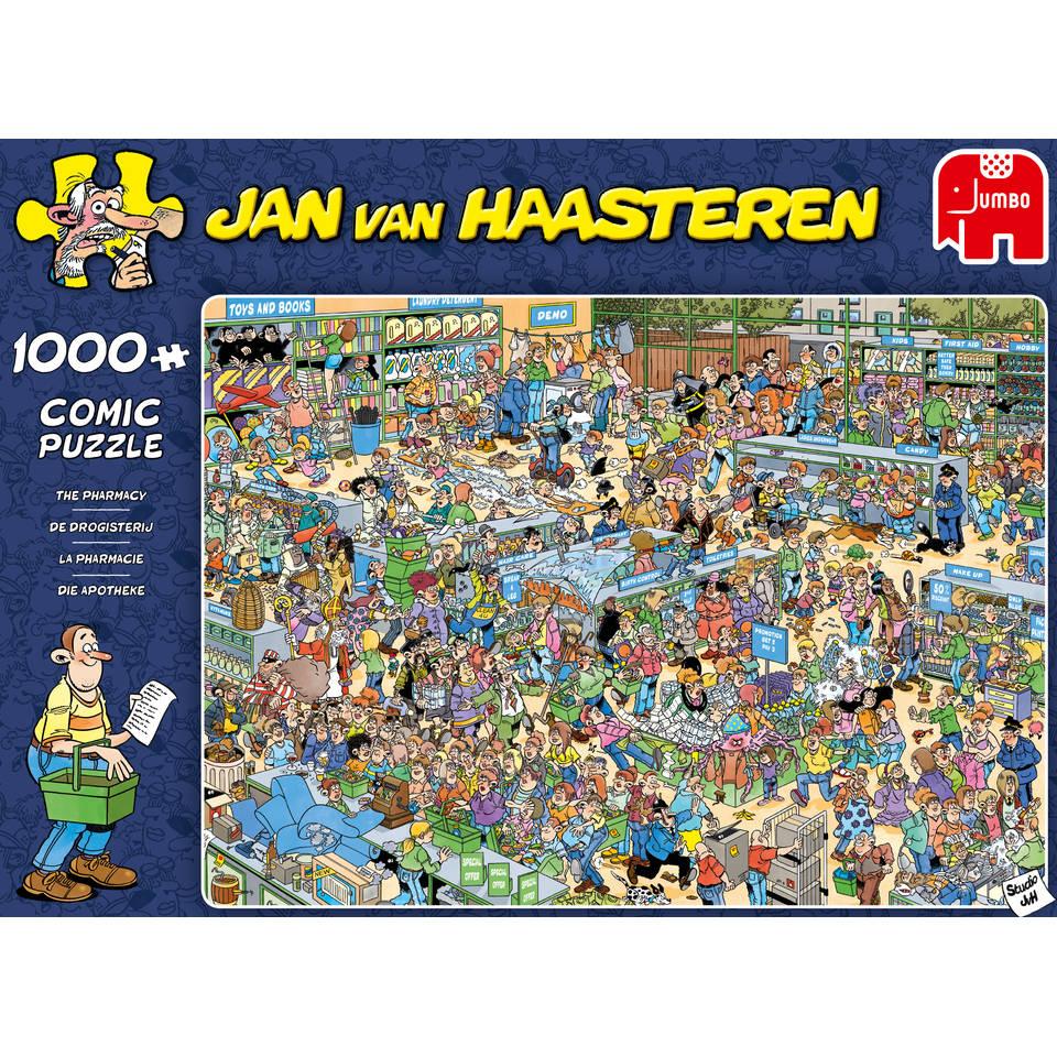 Jumbo Jan van Haasteren puzzel De drogisterij - 1000 stukjes