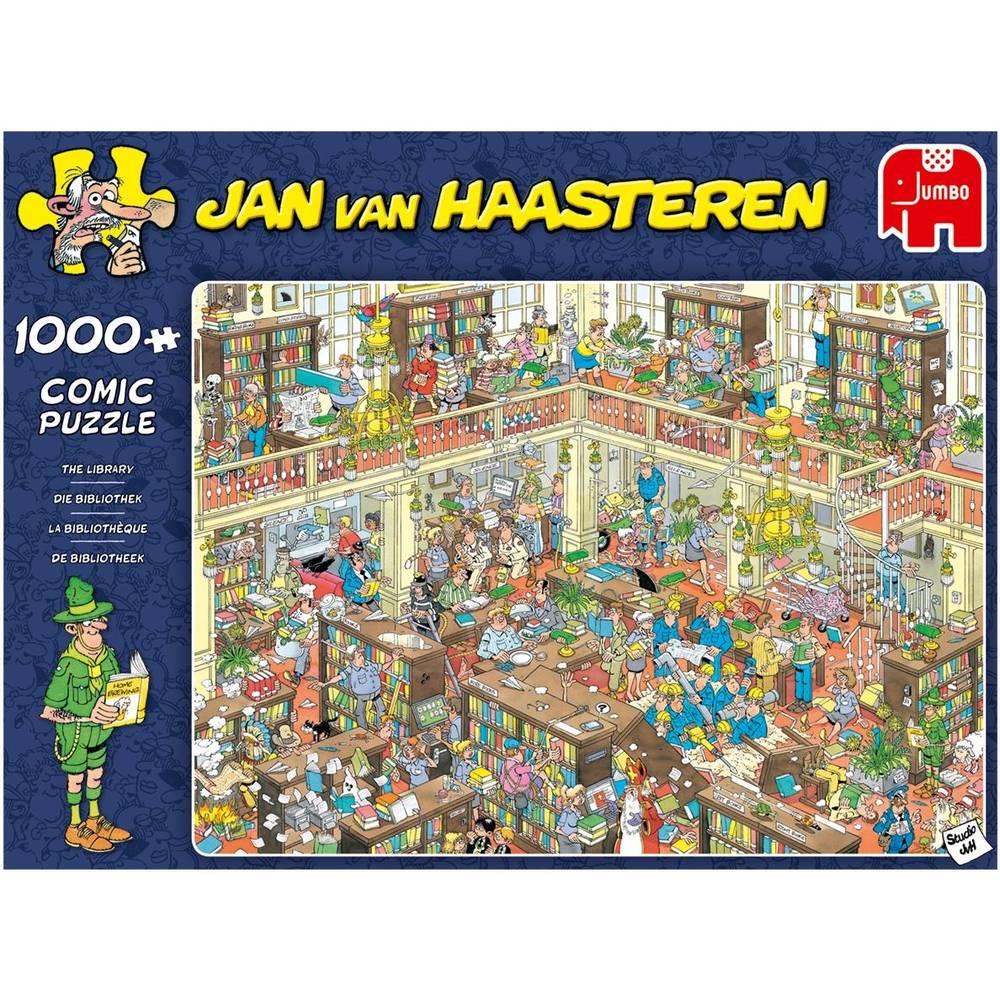 Jumbo Jan van Haasteren puzzel de bibliotheek - 1000 stukjes