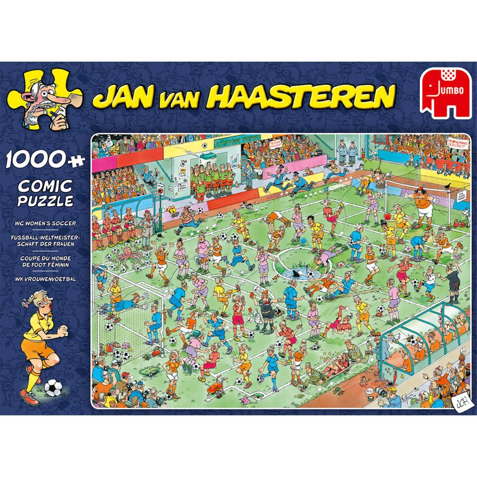 Jumbo Jan van Haasteren puzzel WK vrouwenvoetbal - 1000 stukjes
