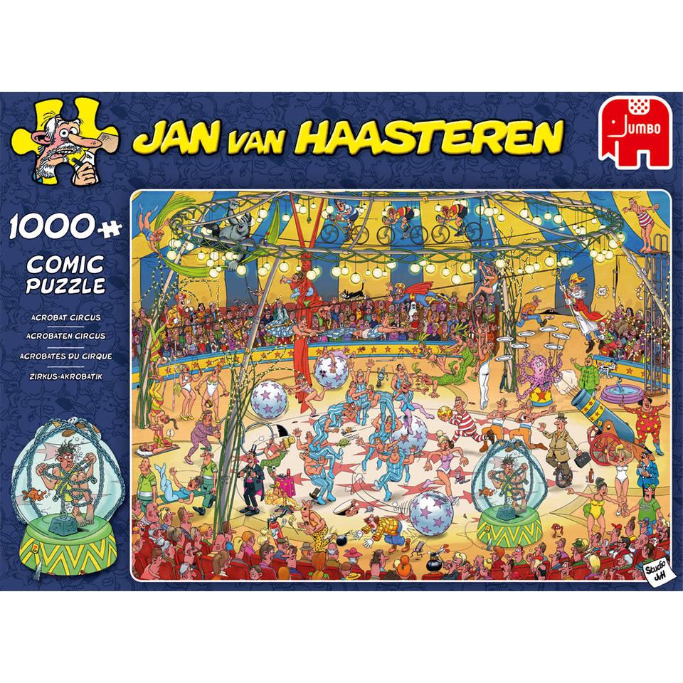 Jumbo Jan van Haasteren puzzel Acrobaten circus - 1000 stukjes