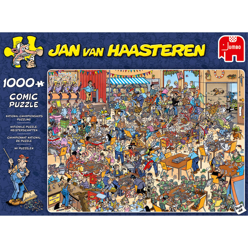 Jumbo Jan van Haasteren puzzel NK - 1000 stukjes
