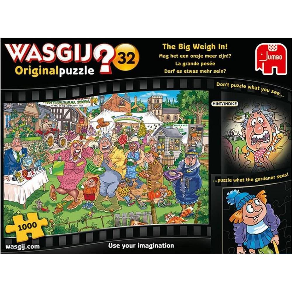 Jumbo Wasgij Original 32 puzzel - 1000 stukjes