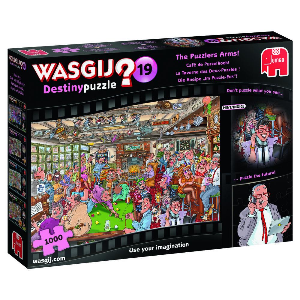 Jumbo Wasgij Destiny 19 puzzel Café de Puzzelhoek - 1000 stukjes