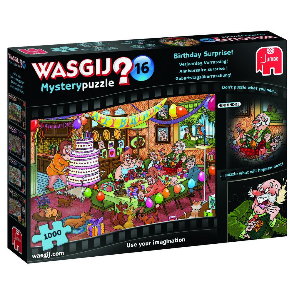 Jumbo Wasgij Mystery 16 puzzel Verjaardag verrassing - 1000 stukjes