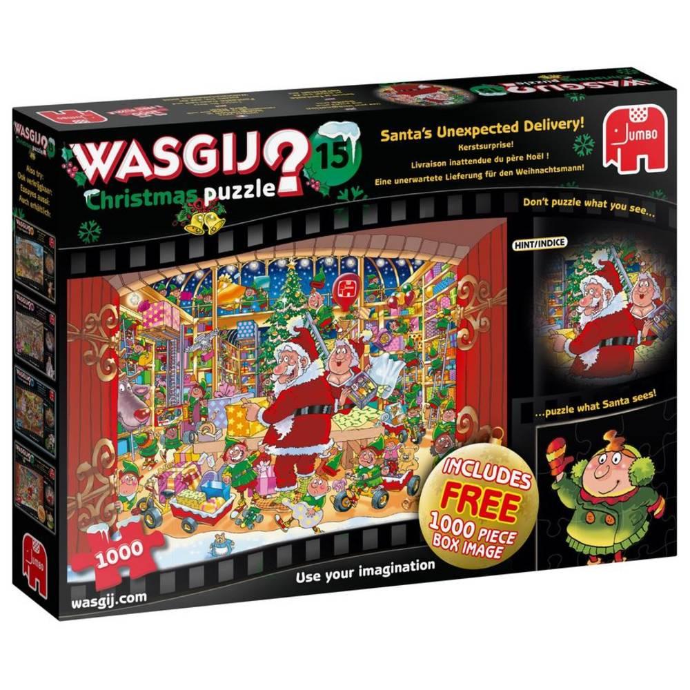 Jumbo Wasgij puzzel kerstmis 15 - 2 x 1000 stukjes
