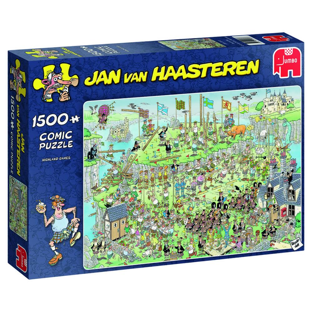 Jumbo Jan van Haasteren puzzel Highland Games - 1500 stukjes