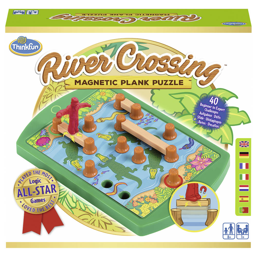 Ravensburger ThinkFun River Crossing bordspel