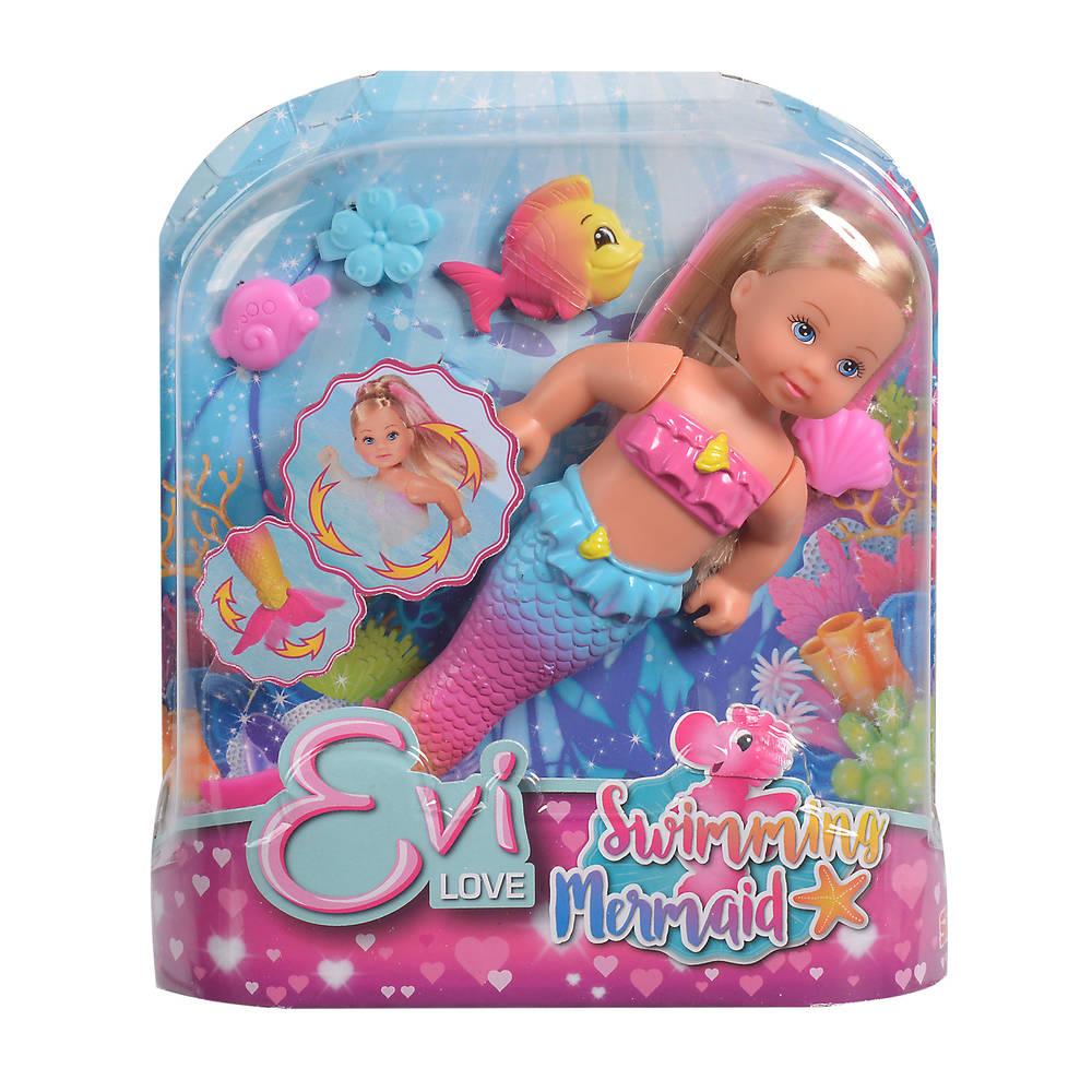 Evi Love zwemmende zeemeermin