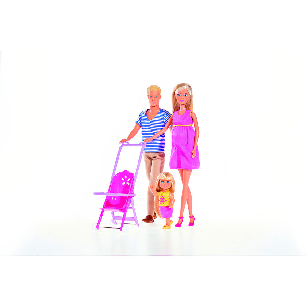 Steffi Love gelukkig gezin