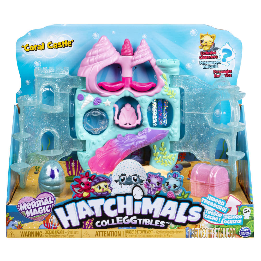 Hatchimals CollEGGtibles Koraalkasteel speelset seizoen 5