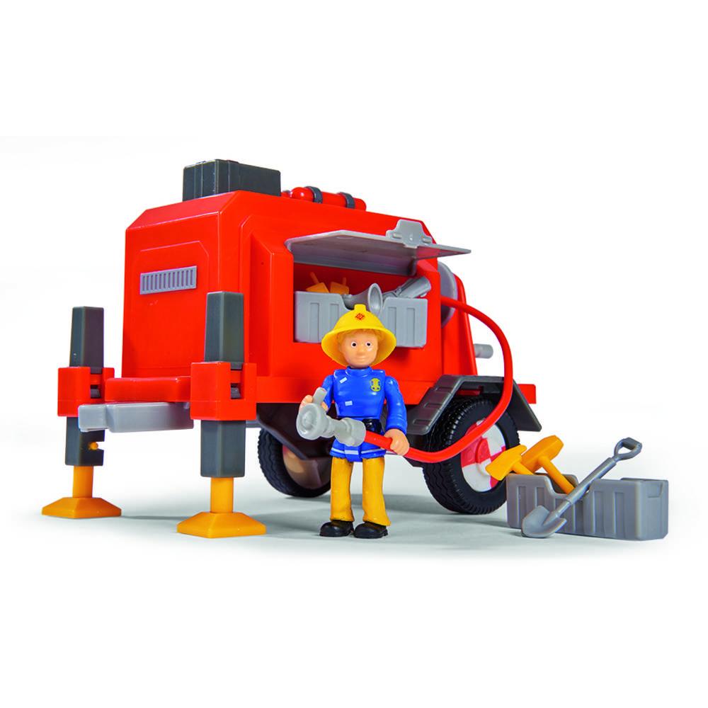 Brandweerman Sam aanhangwagen