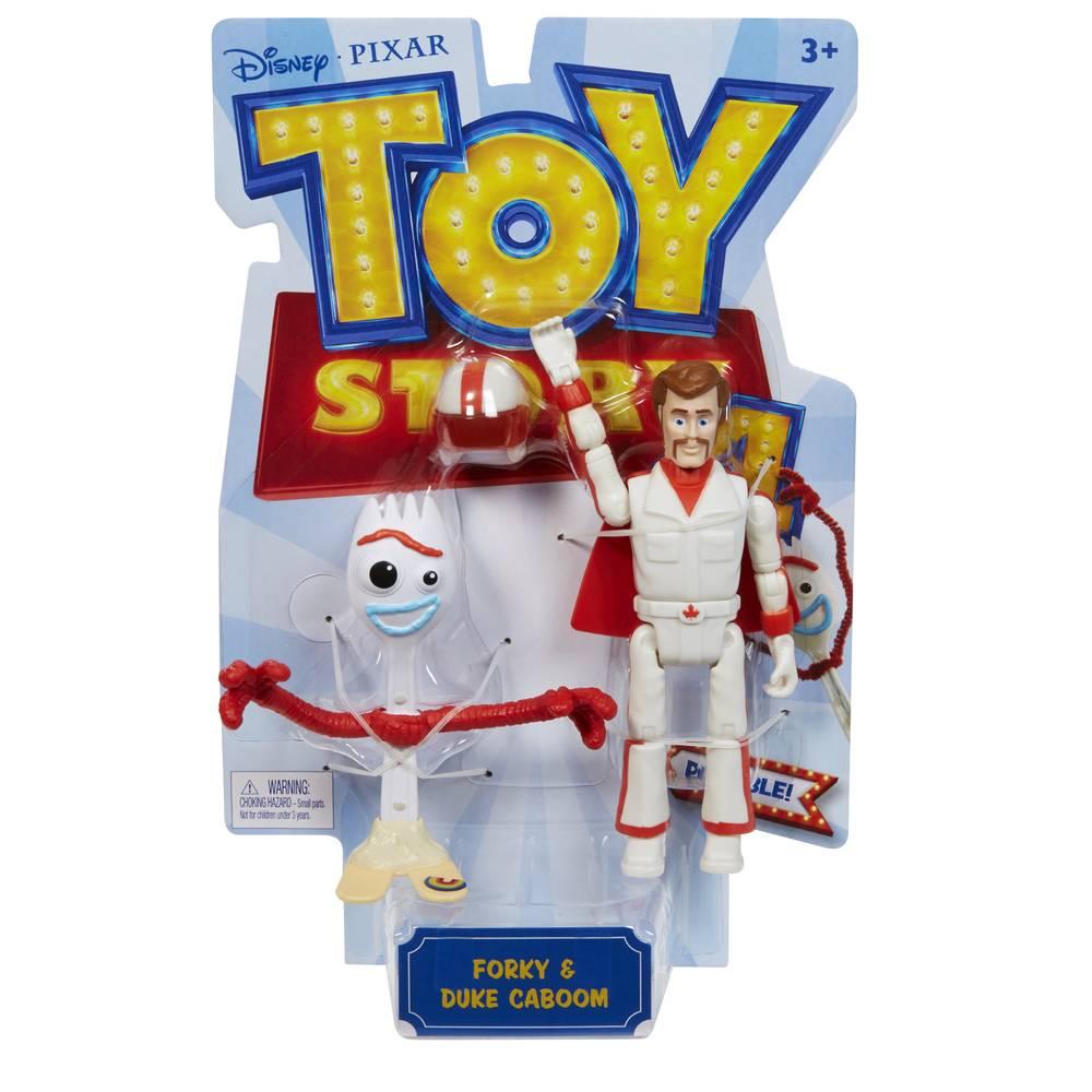 Toy Story 4 Forky en Duke Caboom speelfigurenset