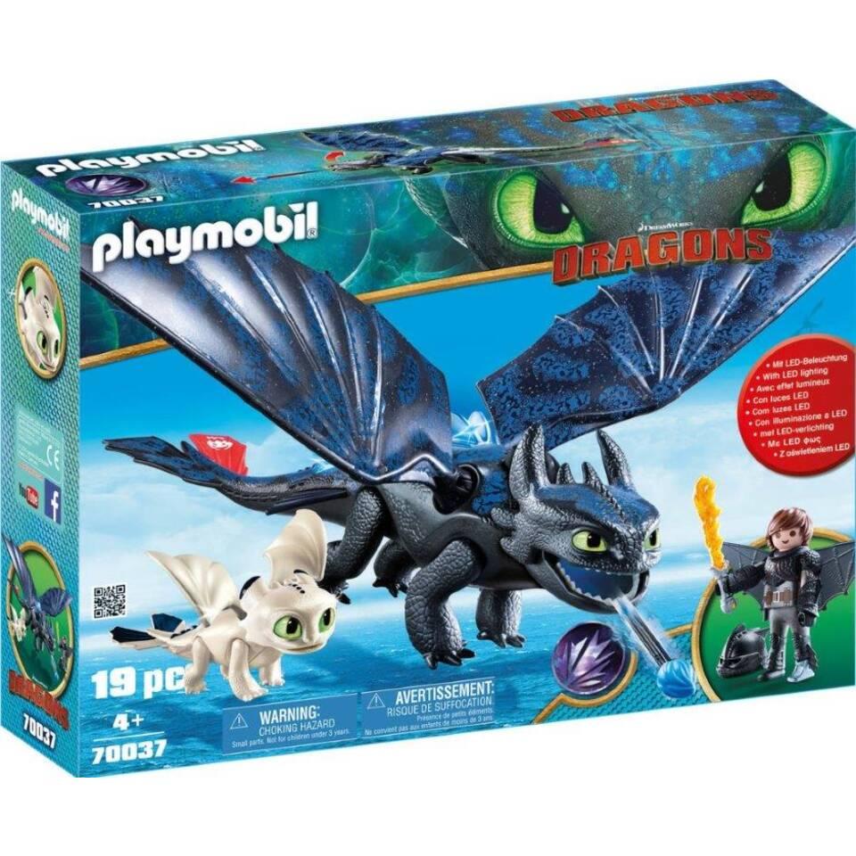 PLAYMOBIL Dragons Tandloos en Hikkie speelset 70037