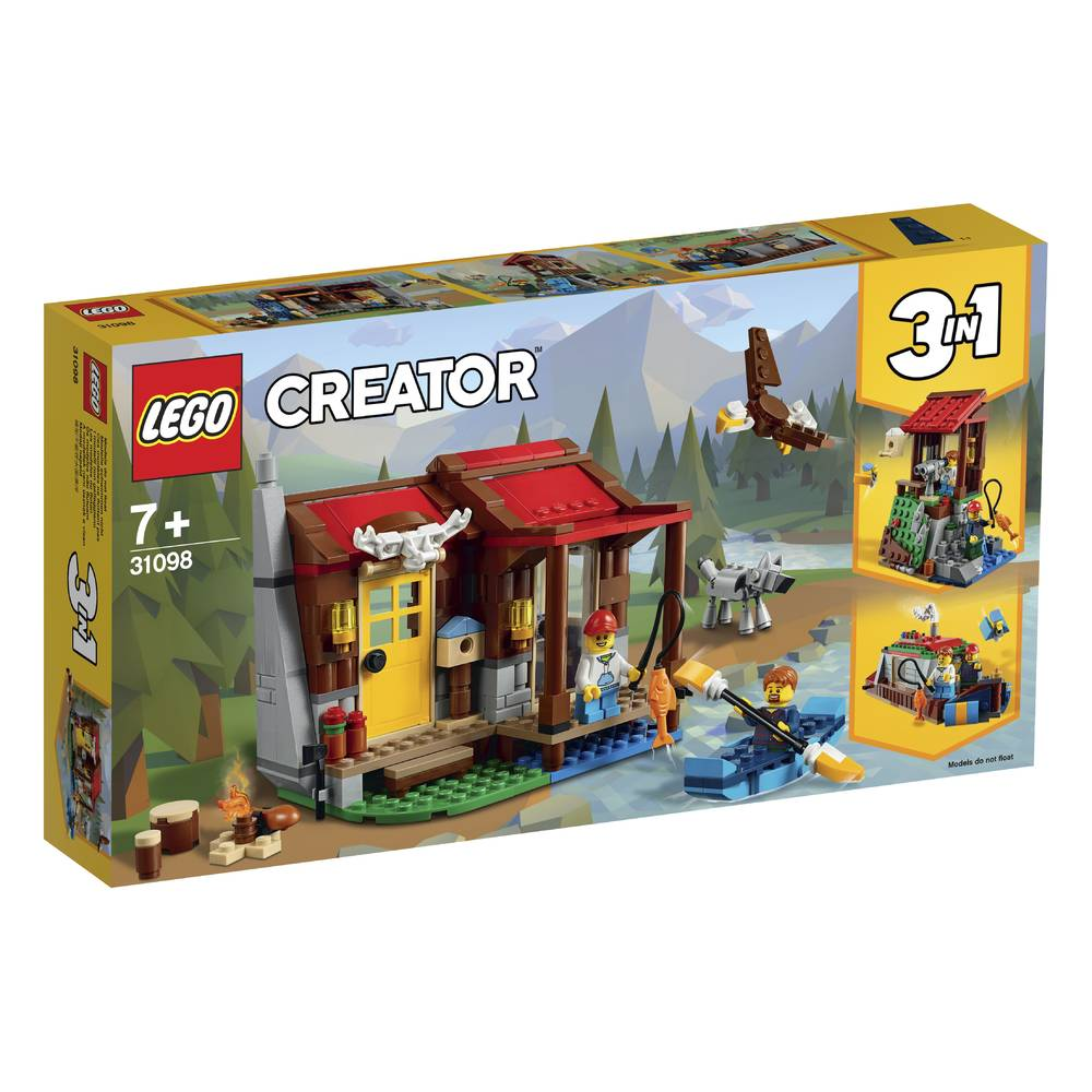 LEGO Creator Hut in de wildernis 31098