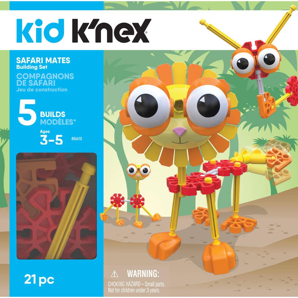 K'NEX safari-maatjes bouwset