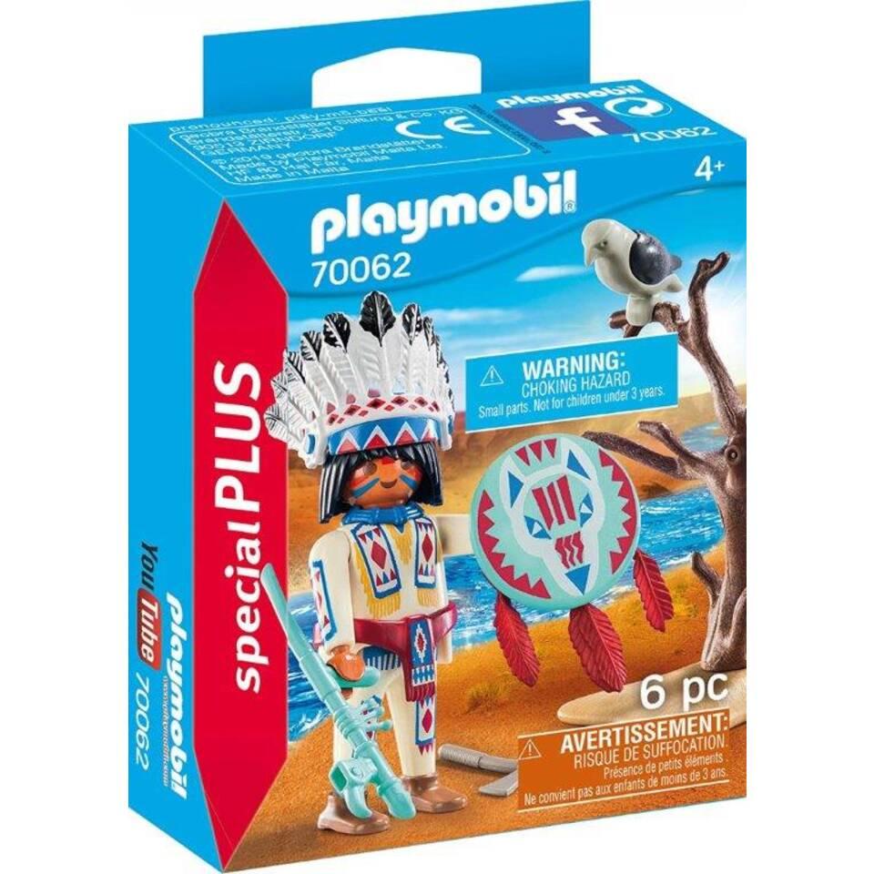 PLAYMOBIL SpecialPLUS inheems stamhoofd 70062