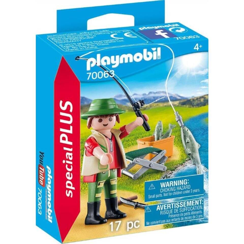 PLAYMOBIL SpecialPLUS visser met hengel 70063