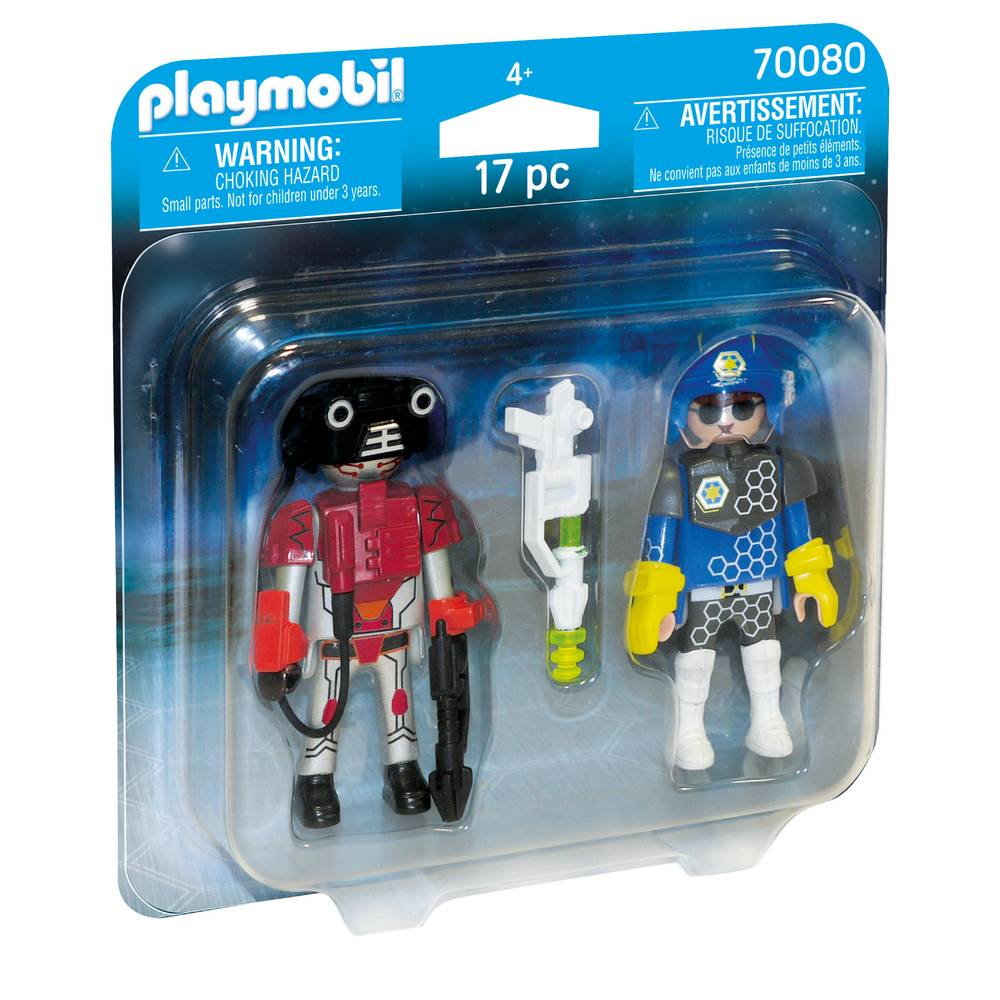 PLAYMOBIL DuoPack ruimtepolitie en boef 70080