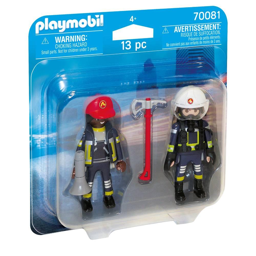PLAYMOBIL DuoPack brandweermannen 70081