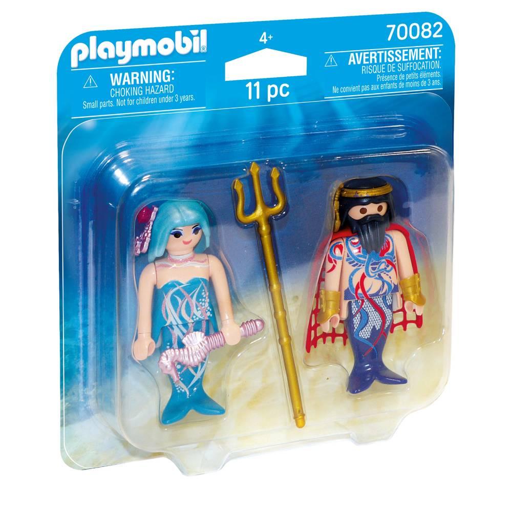 PLAYMOBIL DuoPack zeemeermin en koning 70082