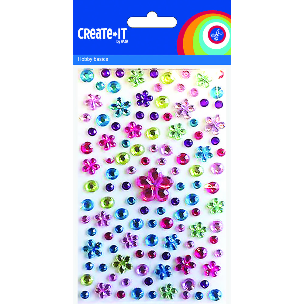 Create-it diamantjes bloemenmix