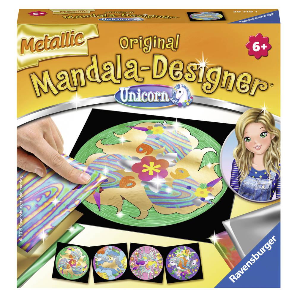 Ravensburger Mandala-Designer metallic folie Eenhoorn