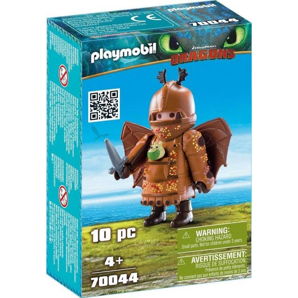 PLAYMOBIL Dragons Vissenpoot in vliegpak 70044