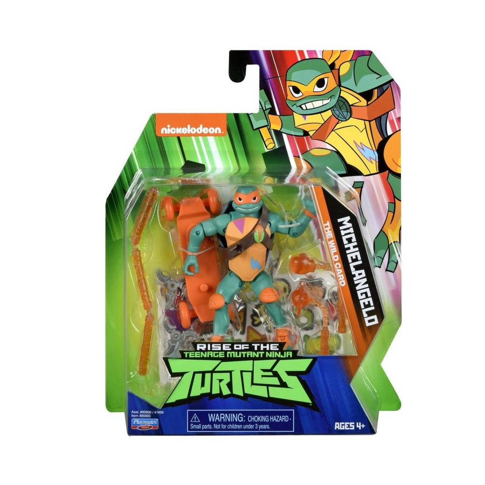Rise of the Teenage Mutant Ninja Turtles beweegbaar figuur Mikey