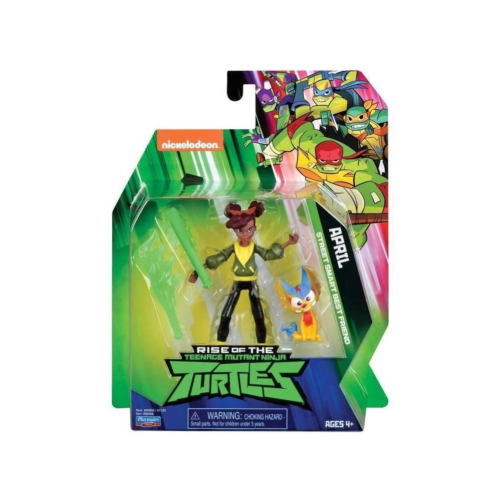 Rise of the Teenage Mutant Ninja Turtles beweegbaar figuur April